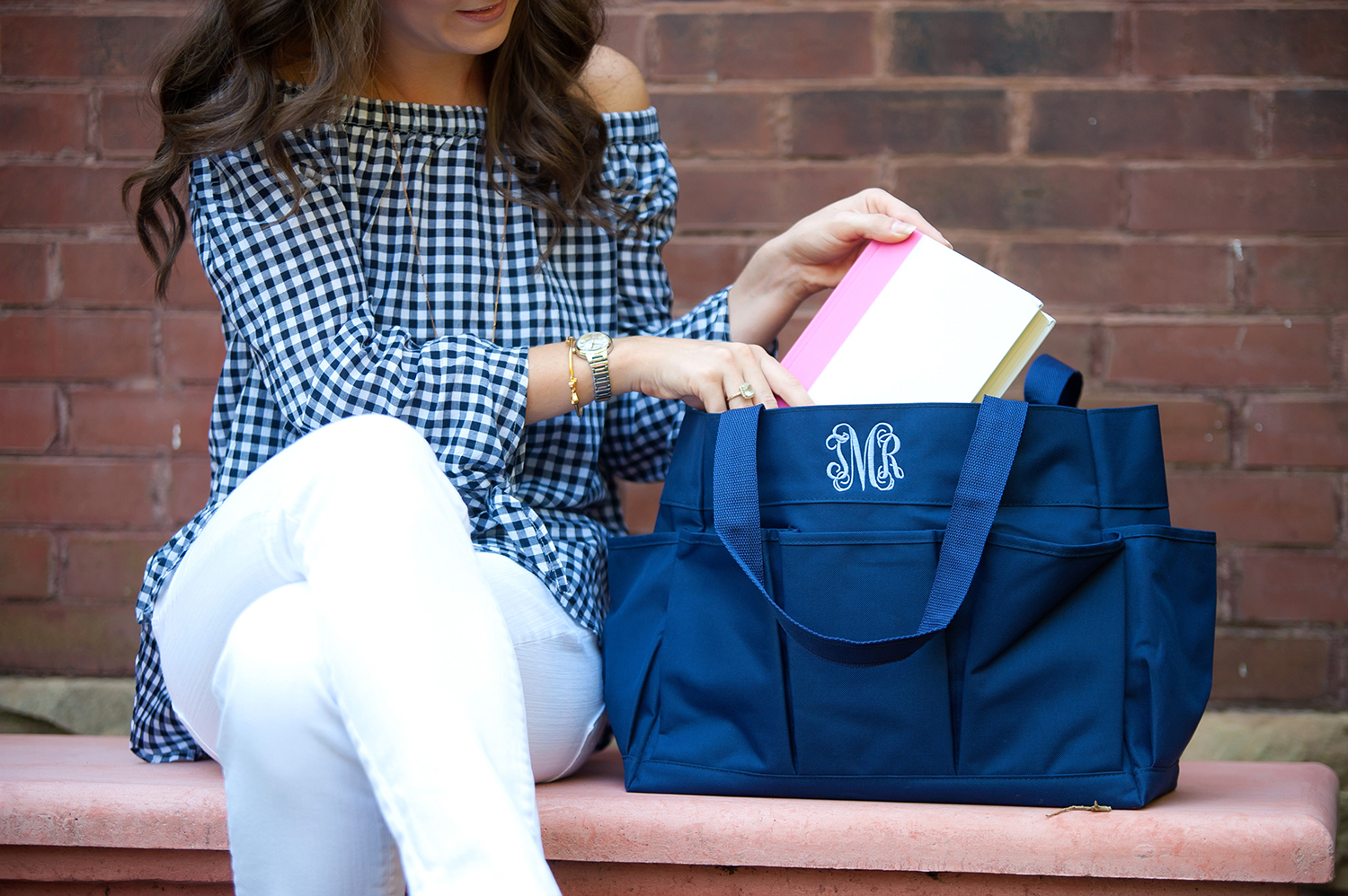Teacher Carry All Tote Navy